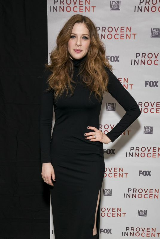 RACHELLE LEFEVRE at Proven Innocent Screening in New York 03/12/2019
