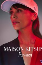 RASHIDA JONES for Maison Kitsune, Parisien Campaign 2019