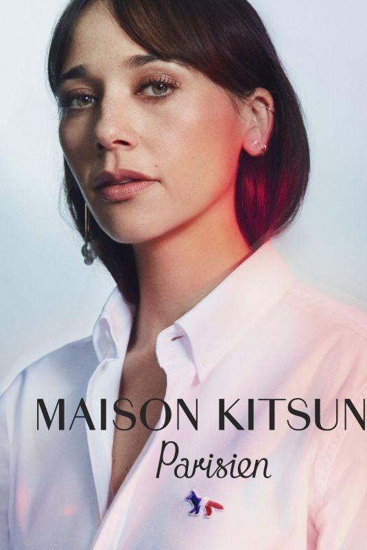 RASHIDA JONES for Maison Kitsune, Parisien Campaign 2019
