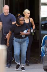 RITA ORA at an Oxygen Therapy Clinic in Melbourne 03/01/2019