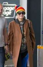 RITA ORA at Melbourne Airport 02/28/2019
