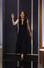 ROBIN TUNNEY on the Set of Jimmy Kimmel Live! in Hollywood 03/05/2019