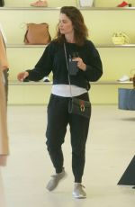 ROBIN TUNNEY Shopping at Acne Studios in West Hollywood 03/21/2019