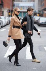 ROMEE STRIJD and Laurens van Leeuwen Out in New York 03/13/2019