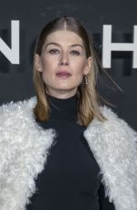ROSAMUND PIKE at Givenchy Fashion Show at PFW in Paris 03/03/2019