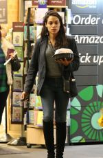 ROSARIO DAWSON Leaves Whole Foods Market in Beverly Hills 03/03/2019