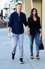 ROSELYN SANCHEZ and Eric Winter Out in Los Angeles 03/12/2019