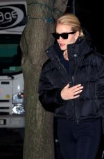 ROSIE HUNTINGTON-WHITELEY Night Out in New York 02/28/2019