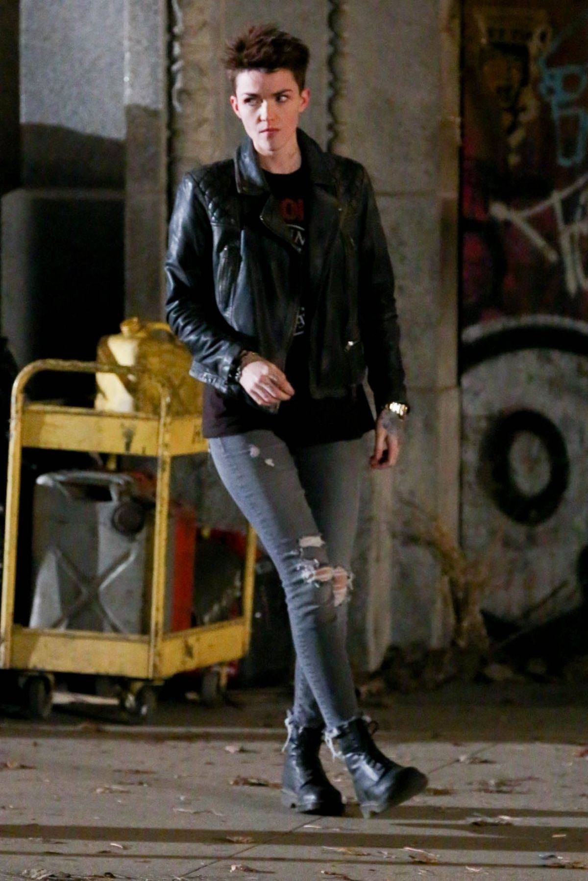 Ruby Rose As Batwoman For Dc S New Tv Pilot In Chicago 03