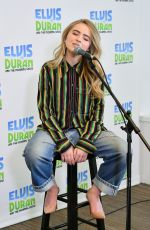 SABRINA CARPENTER at Elvis Duran Z100 Morning Show in New York 03/12/2019