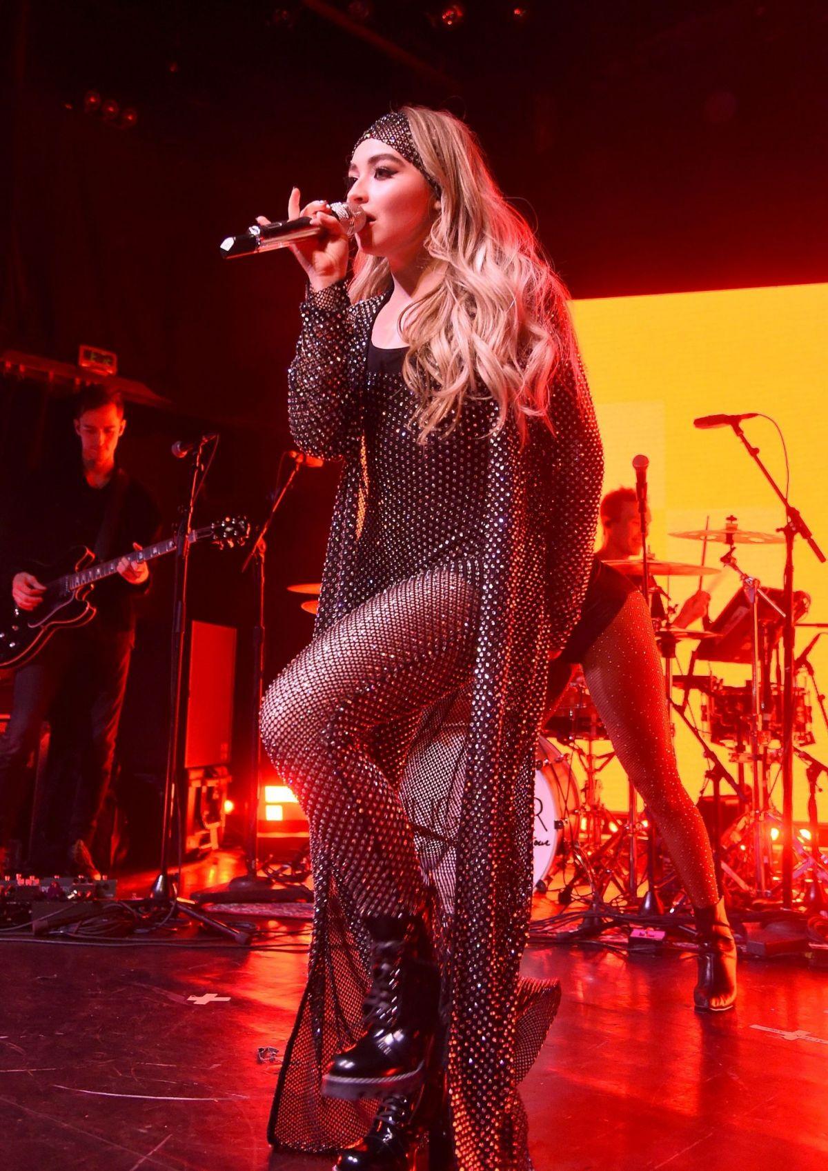 SABRINA CARPENTER Performs at Irving Plaza in New York 03 ...
