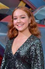 SADIE STANLEY at Captain Marvel Premiere in Hollywood 03/04/2019