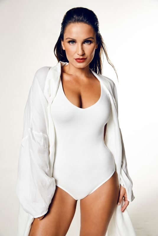 SAM FAIERS on the Set of a Photoshoot, March 2019