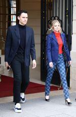 SAMARA WEAVING Leaves Her Hotel in Paris 03/05/2019