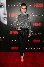 SAMI GAYLE at HBO Hosts Premiere of The Inventor Out for Blood in Silicon Valley in New York 02/28/2019
