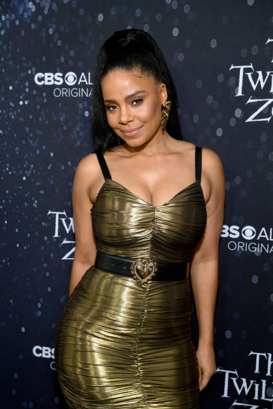 SANAA LATHAN at The Twilight Zone Premiere in Hollywood 03/26/2019