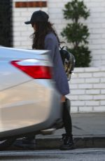 SARAH HYLAND Leaves a Spa in Studio City 03/10/2019