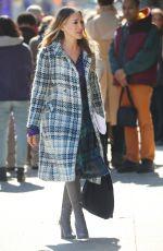 SARAH JESSICA PARKER on the Set of Divorce, Season 3 in New York 03/11/2019