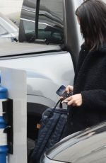 SELENA GOMEZ Arrives at a Music Studio in Los Angeles 02/28/2019