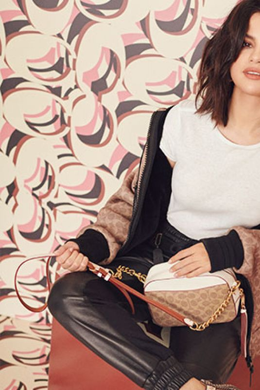 SELENA GOMEZ for Coach 2019 Collection