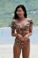SHELBY TRIBBLE in Bikini at a Beach in Thailand 03/14/2019