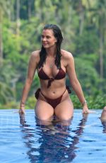 SHELBY TRIBBLE in Bikini at a Pool in Thailand 03/08/2019