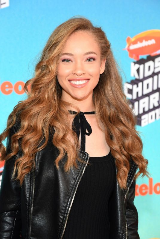 SHLEBY SIMMONS at Nickelodeon