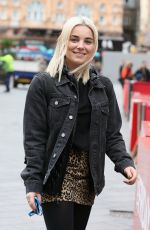 SIAN WELBY Arrives at Global Radio in London 03/15/2019