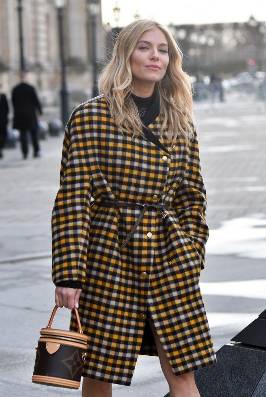 SIENNA MILLER at Louis Vuitton at Paris Fashion Week 03/05/2019