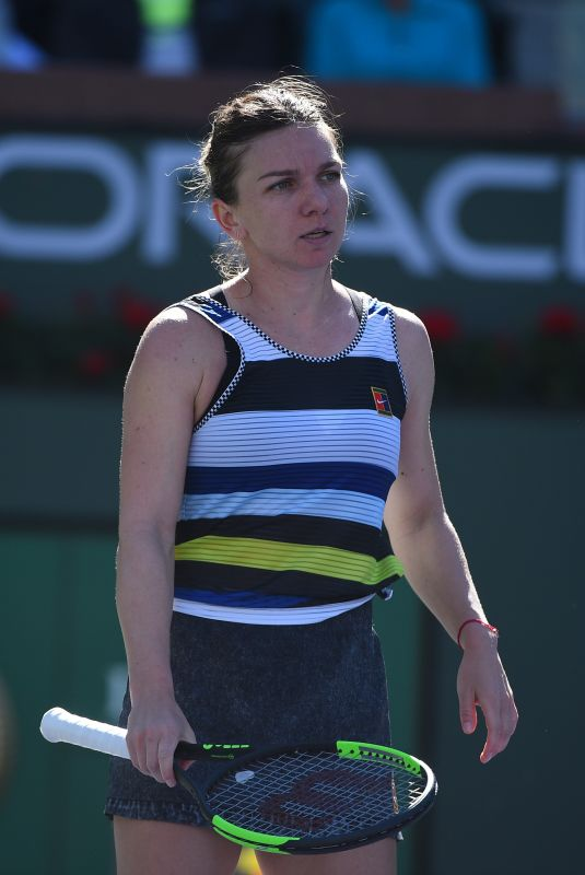 SIMONA HALEP at 2019 Indian Wells Masters 1000 03/12/2019