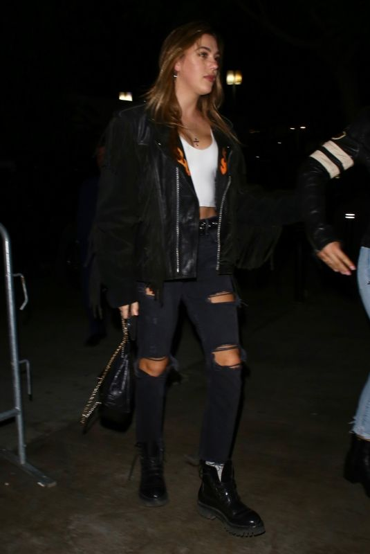SISTINE ROSE STALLONE Arrives at Justin Timberlake Concert in Los Angeles 03/10/2019