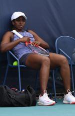 SLOANE STEPHENS Practice at Miami Open Tennis Tournament 03/20/2019