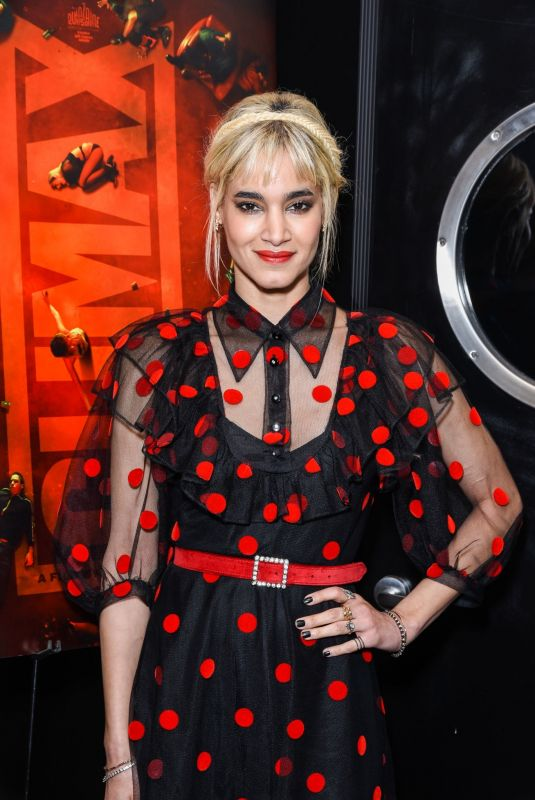 SOFIA BOUTELLA at Climax Special Screening in Hollywood 02/28/2019