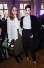 SOFIA CARSON at Elie Saab Show at Paris Fashion Week 03/02/2019