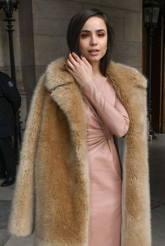 SOFIA CARSON at Stella McCartney Show at Paris Fashion Show 03/04/2019