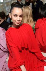 SOFIA CARSON at Valentino Fashion Show in Paris 03/02/2019