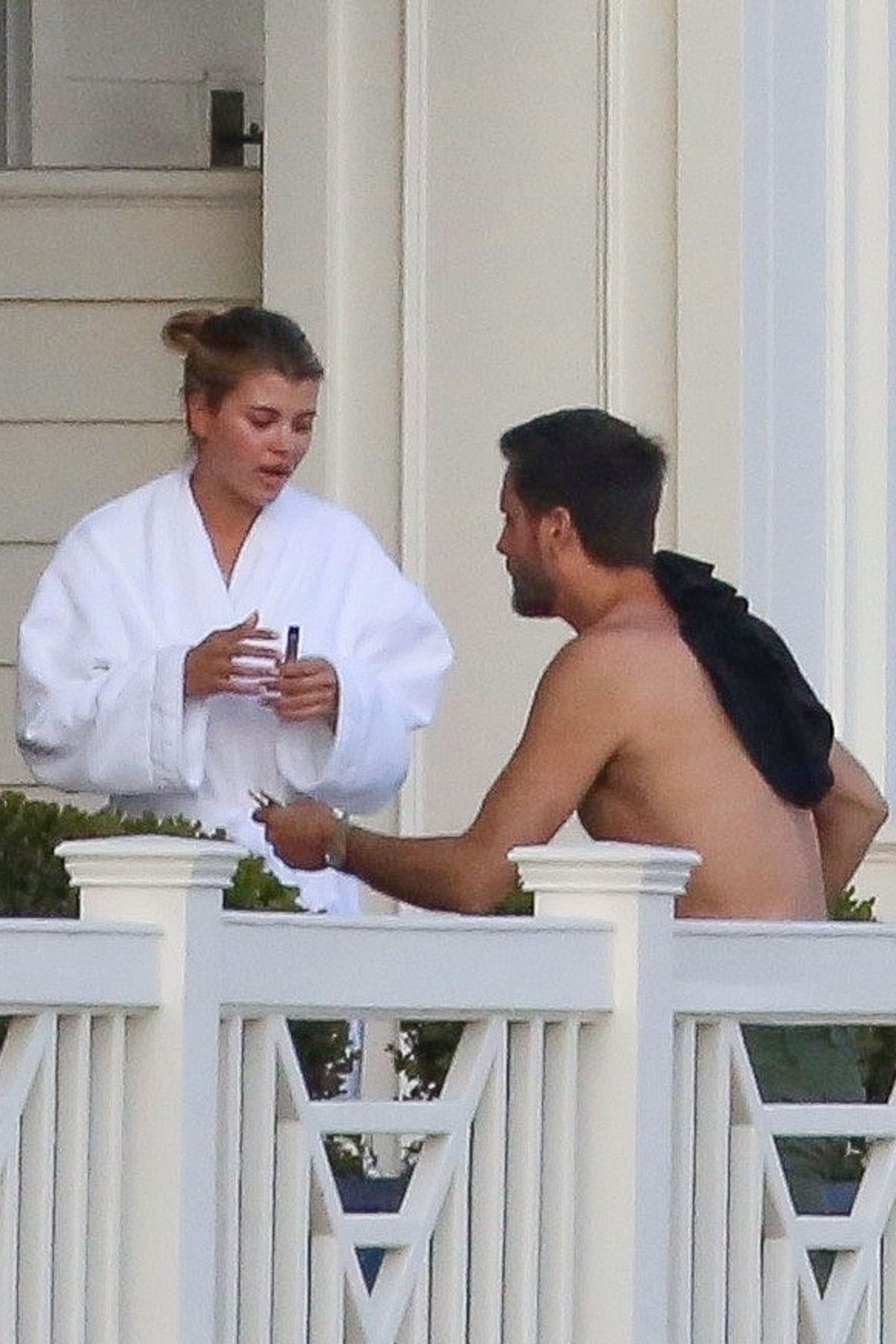 SOFIA RICHIE and Scott Disick on Vacation in Montecito 03 ...