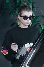 SOFIA RICHIE Leaves a Gym in Los Angeles 03/07/2019