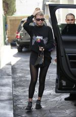 SOFIA RICHIE Leaves a Gym in Los Angeles 03/08/2019