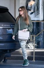 SOFIA VERGARA Shopping at Saks Fifth Avenue in Los Angeles 03/10/2019