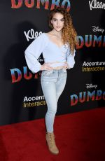 SOFIE DOSSI at Dumbo Premeire in Hollywood 03/11/2019