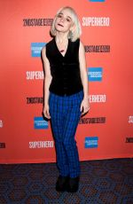 SOPHIA ANNE CARUSO at Superhero Play Opening Night in New York 02/28/2019