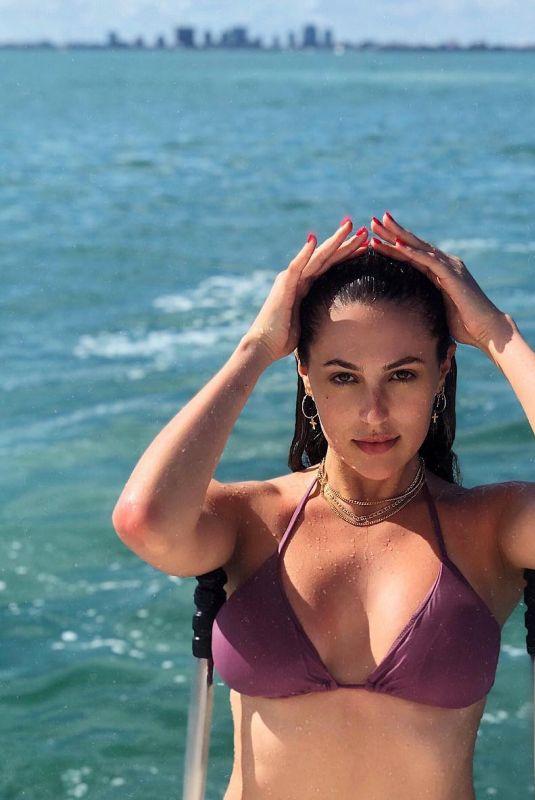 SOPHIA STALLONE in Bikini Top - Instagram Picture 03/12/2019