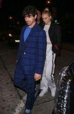 SOPHIE TURNER and Joe Jonas at Craig