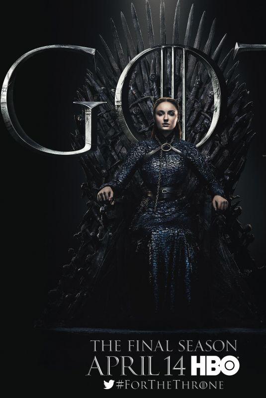 SOPHIE TURNER - Game of Thrones Season 8 Promos