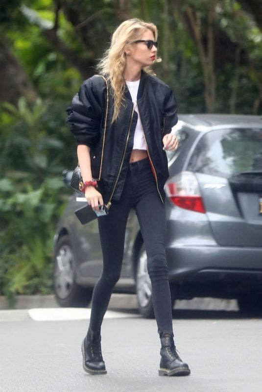 STELLA MAXWELL Out in Los Angeles 03/01/2019