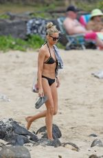 STEPHANIE PRATT in Bikini on the Beach in Hawaii 03/09/2019