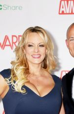 STORMY DANIELS at AVN Video News Awards in Las Vegas 01/26/2019