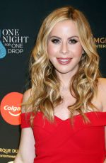 TARA LIPINSKI at One Night for One Drop in Las Vegas 03/08/2019
