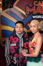 TATI GABRIELLE at Captain Marvel Premiere in Hollywood 03/04/2019
